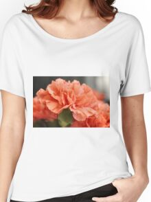 Apricot carnation Women's Relaxed Fit T-Shirt