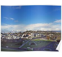 The Scottish Parliament Building Poster