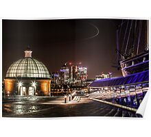 Greenwich and Canary Wharf Poster
