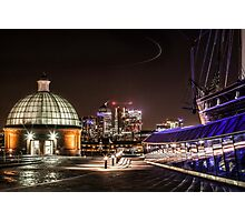 Greenwich and Canary Wharf Photographic Print
