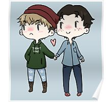 Red Beanies and Gay Babes Poster