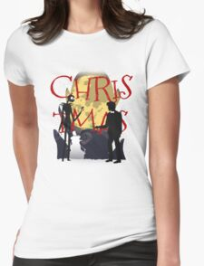 City of Christmas Womens Fitted T-Shirt