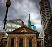 St. James Church MLC and Centre Point by MiImages
