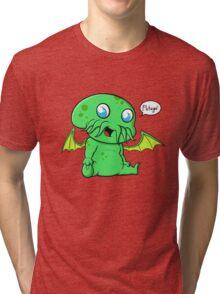 Lil' Cthulhu Tri-blend T-Shirt