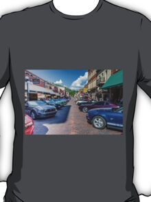 Ford Mustang Rally Deadwood SD  T-Shirt