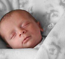 Sleeping baby by Vanessa Combes