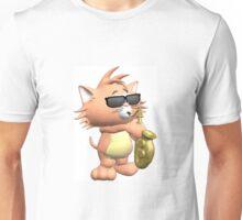 saxy cat Unisex T-Shirt