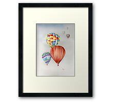Fantastic Hot Air Balloons! Framed Print