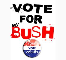 VOTE FOR myBUSH! Womens Fitted T-Shirt