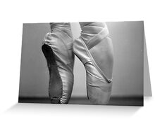 Ballet Shoes1 Greeting Card