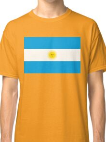 flag of argentina Classic T-Shirt