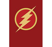 The Flash Photographic Print