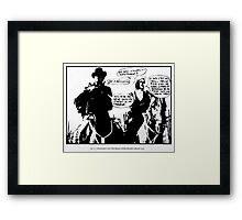 Durutti Column Situationist Coup Framed Print