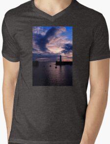 The Dee, Dawn Mens V-Neck T-Shirt