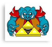 """Ganon's Triforce"" Canvas Print"