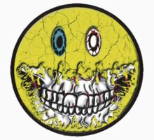 Zombie Smiley by American Artist