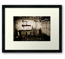 desolate. Framed Print