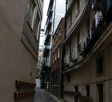 Back streets of Birmingham by kitza