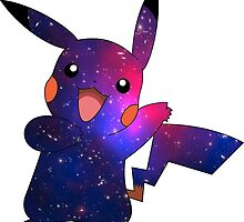 Galaxy Pikachu by Fergushigley