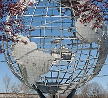 Unisphere. Queens, New York City by Richard Peevers