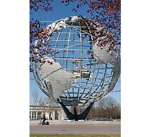 Unisphere. Queens, New York City Photographic Print