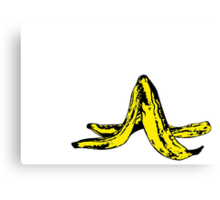 Banana Peel Canvas Print