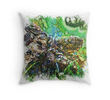 The Atlas Of Dreams - Color Plate 135 Throw Pillow