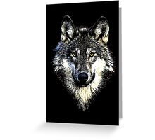 Wolf 4 Greeting Card