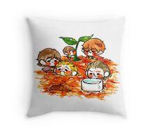 Tinies-Gardening Throw Pillow