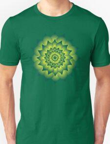 Green fire flower T-Shirt