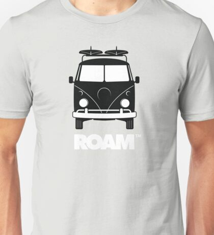 ROAM Surfer Bus  Unisex T-Shirt