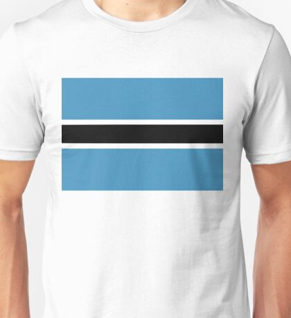 flag of botswana Unisex T-Shirt