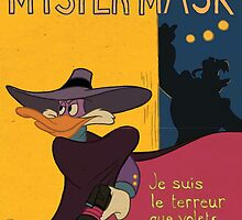 Myster Mask (Darkwing Duck) by Renzoid