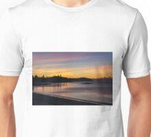 Roque Bluffs sunrise Maine  Unisex T-Shirt