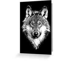 Wolf 5 Greeting Card