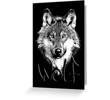 Wolf 6 Greeting Card
