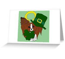 Happy St. Paptricks - Papillon Holidays Greeting Card