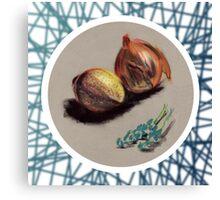 Onions Canvas Print