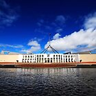 Australian Parliament House by Christopher Meder