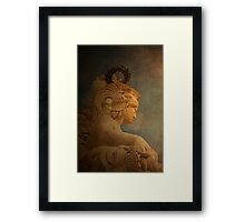 VALOR. Virtue.  Framed Print