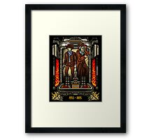 Friends in Time - Part III Framed Print