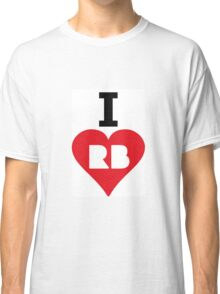 i love red bubble Classic T-Shirt