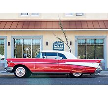 Chevrolet Bel Air Photographic Print