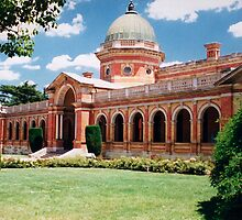 Court House, Goulburn, NSW, Australia by Peter Clements