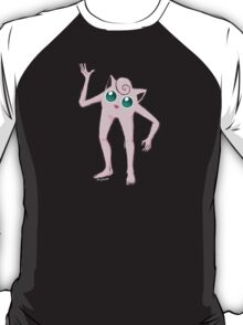 Jigglypuff with Arms and Legs T-Shirt