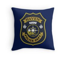Haven Police Department Throw Pillow