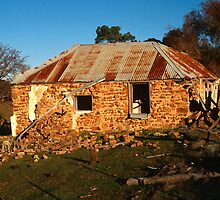 Failing Farm House, Range Road, Goulburn, NSW, Australia by Peter Clements