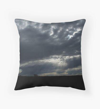 Glory Shining Through Throw Pillow