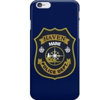Haven Police Department iPhone Case/Skin
