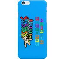 Rainbow Mega-Man iPhone Case/Skin